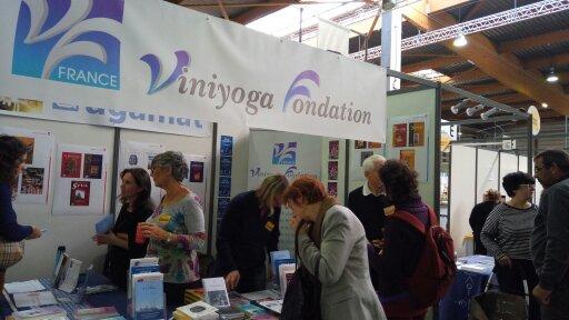 La Viniyoga Fondation était présente au dernier Yoga Festival de Paris