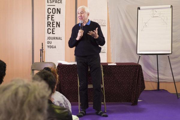 Bernard Bouanchaud au Yoga Festival de Paris 2016