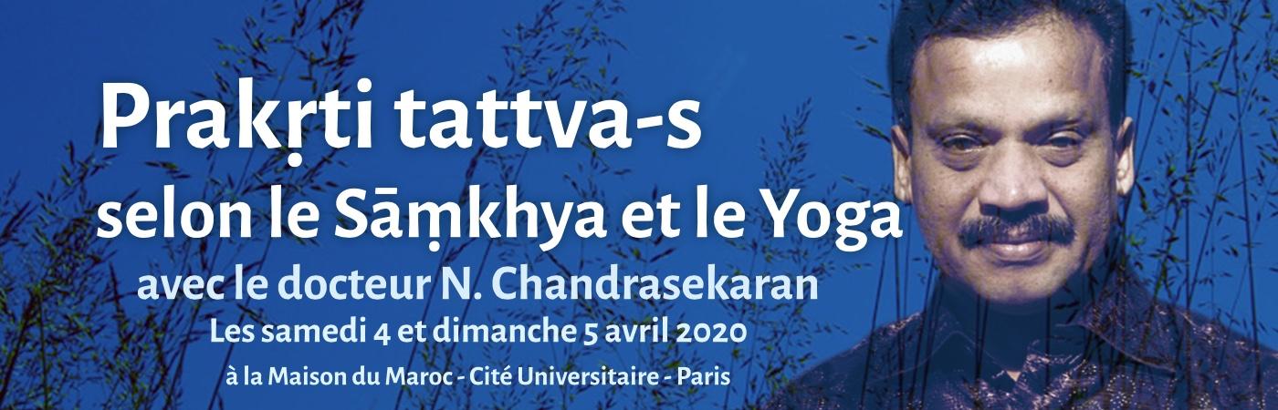 Prakṛti tattva-s selon le Sāṃkhya et le Yoga Avec le Dr N. Chandrasekaran