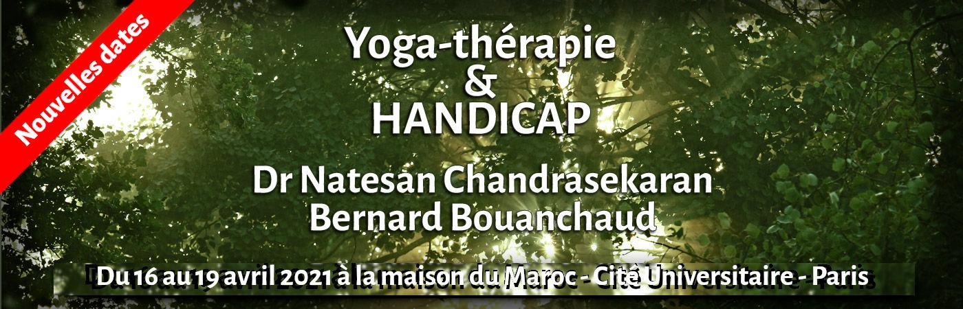 Yoga Thérapie et Handicap Dr NC Chandrasekaran & B. Bouanchaud