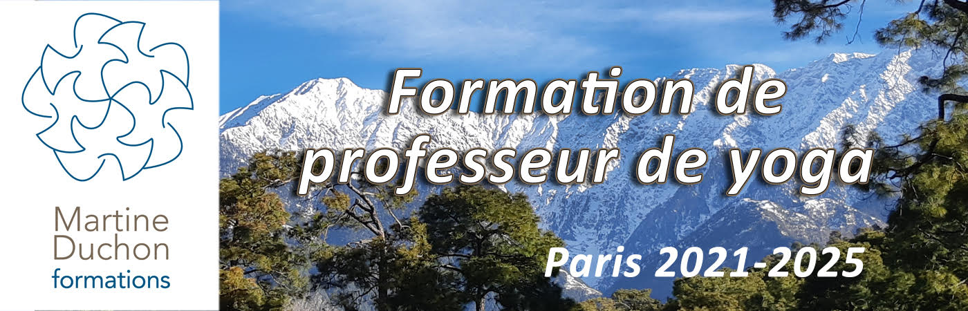 Formation de professeurs de yoga à Paris 2021-2025 par Martine Duchon