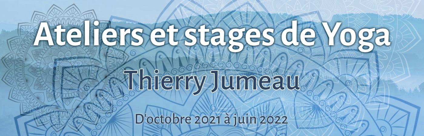 Ateliers et stages de yoga par Thierry Jumeau